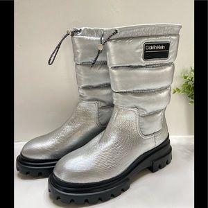 NEW Calvin Klein Water Resistant Winter Boots